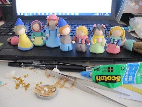 サントン人形を作る