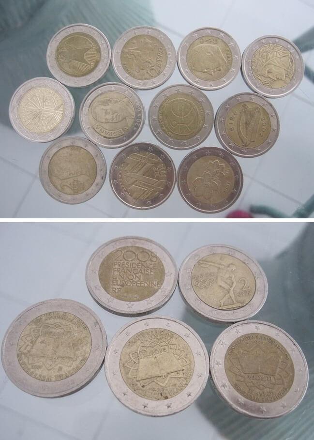 2ユーロコインの柄 記念硬貨