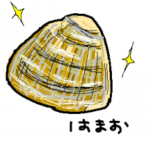 ハマグリのイラスト