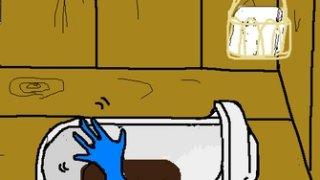 トイレから青い手が出る