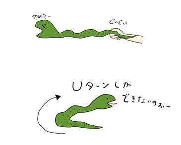 へびの動き方