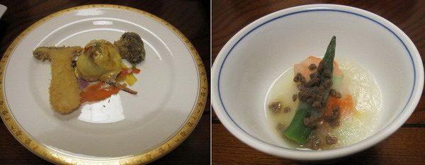龍洞 夕食