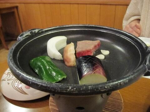 霧島みやまホテルのステーキ付け合わせの野菜