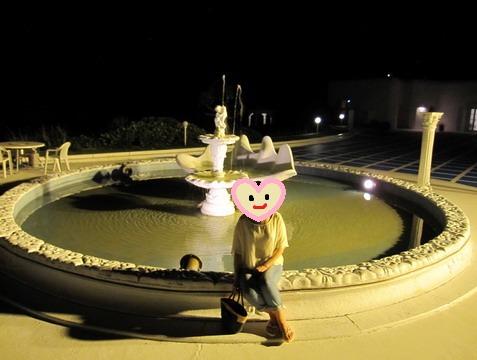 プリシアリゾート ミコノス広場の噴水