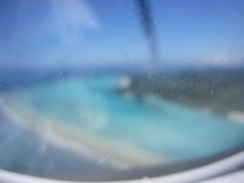 百合が浜 上空