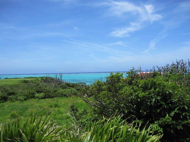 森瑤子のお墓から見える海