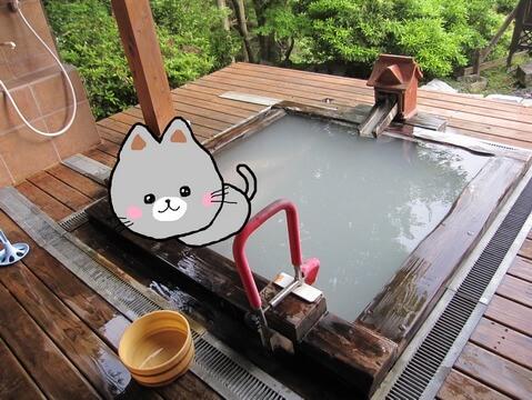ヴィラ モンペトルのアペルの露天風呂