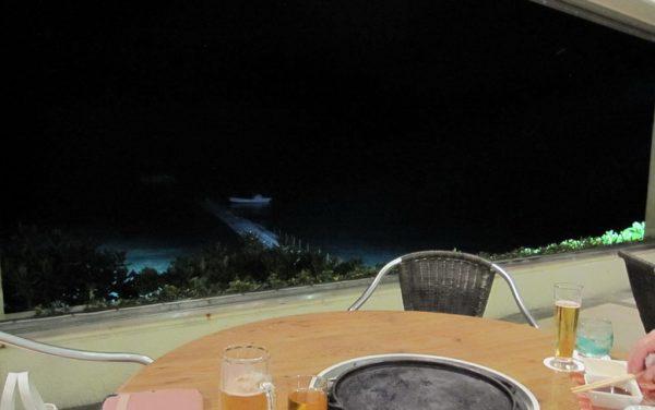 バーベキューハウス 海が見える