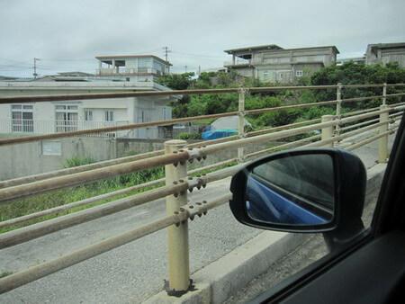 伊良部島 車窓からみた景色