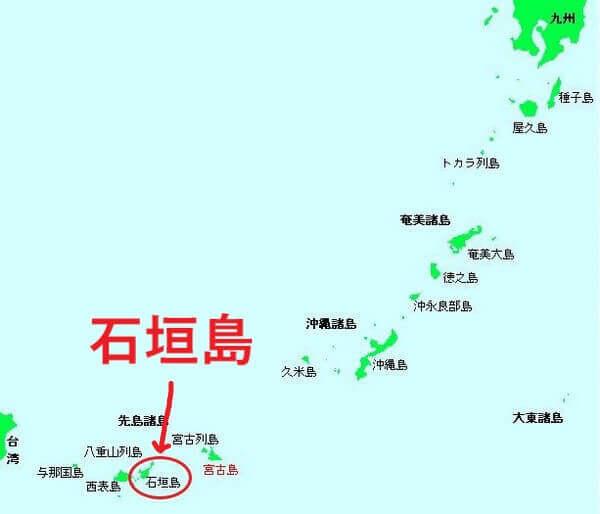 石垣島 地図