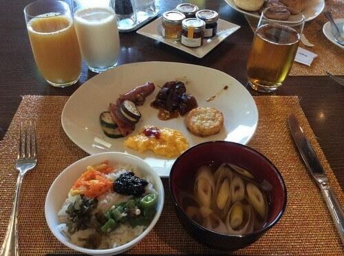 ANAインターコンチネンタル石垣の朝食