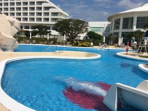 ANA石垣ホテルの子供用プール