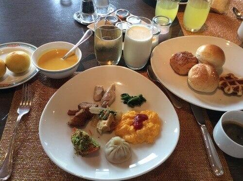 サンコーストカフェ 朝食ビュッフェ