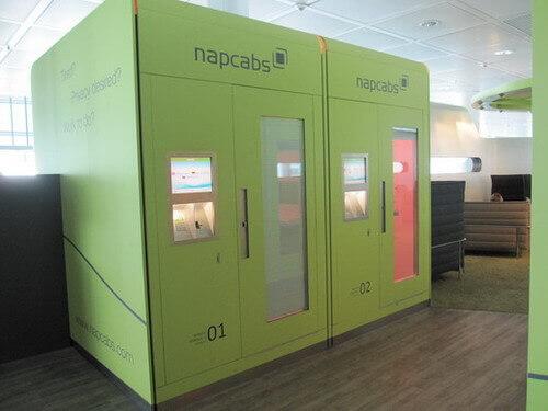 napcabs 外観 ミュンヘン空港