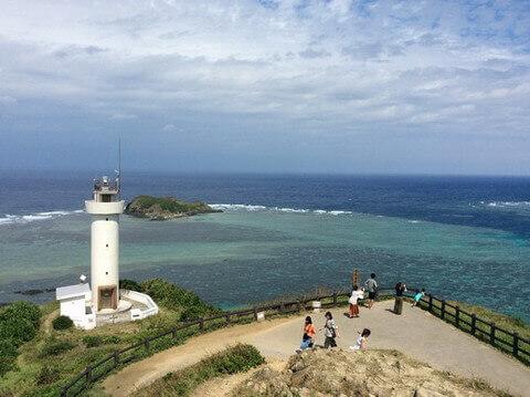 平久保崎灯台の丘から見た景色